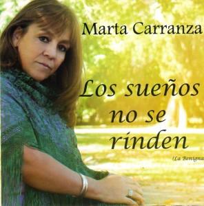 Marta Carranza su nuevo cd Los sueños no se rinden